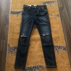 AGOLDE Sophie High Rise Skinny Jeans Size 29